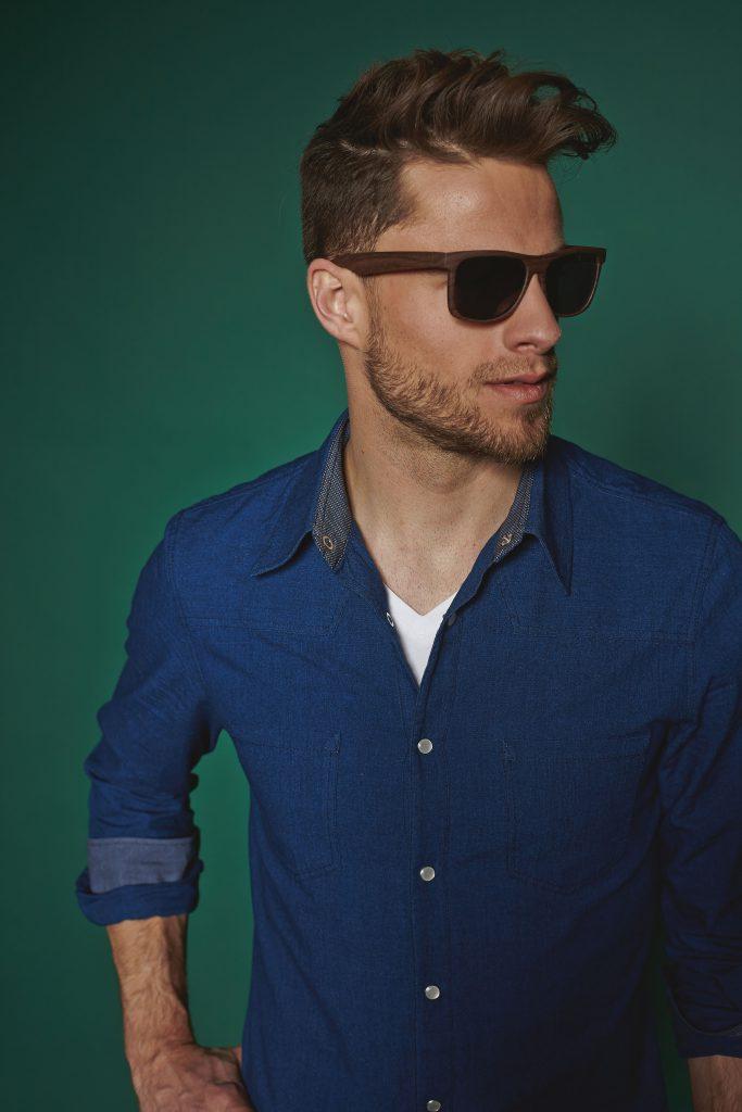Classic Denim Shirt Sewing Pattern For Men (Sizes 46-60 German)
