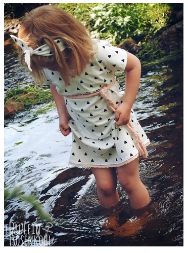 Dress Sewing Pattern For Girls (Sizes 62-164)