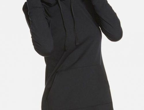 Hooded Sweatshirt Dress Sewing Pattern For Women (Sizes 42-44 Russian)