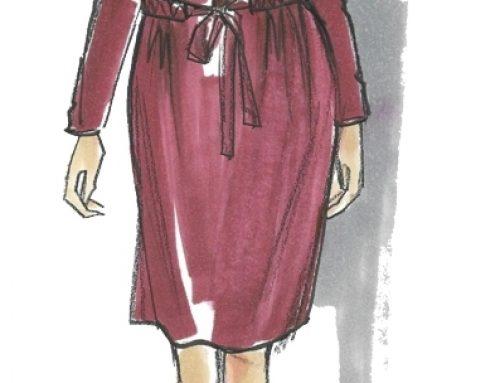 Liem Dress Sewing Pattern For Women (Sizes 34-50 Eur)