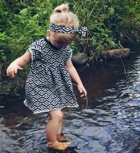 Tunic Sewing Pattern For Girls (Sizes 62-164)