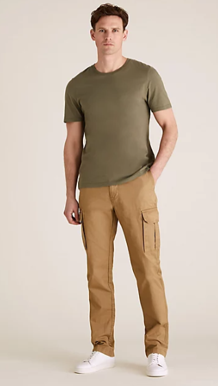 Cargo Trousers Sewing Pattern For Men (Sizes 44-54 Eur)