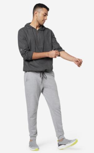 Zip Through Hoodie Sewing Pattern For Men (Sizes 44-50 Eur)