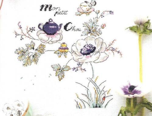 'Mon Petit Chou' Cross Stitch Embroidery Scheme