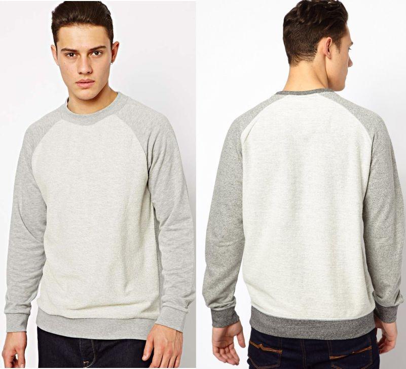 Men's Sweatshirt Sewing Pattern (Sizes 44-58 Eur)