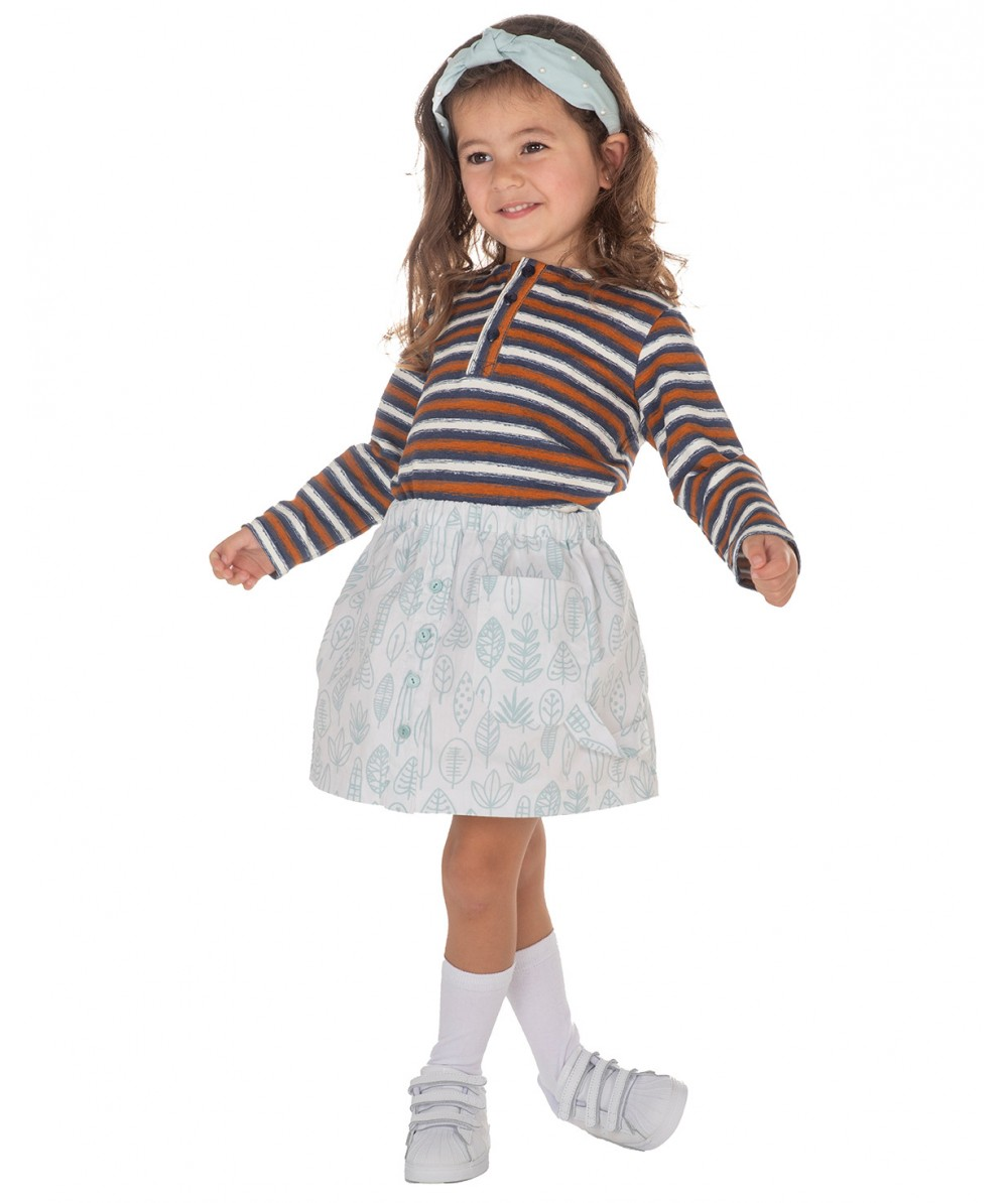 Knit Skirt Sewing Patter For Girls (Sizes )