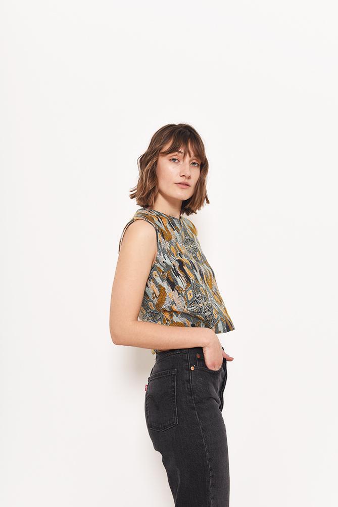 Josie Boxy Top Sewing Pattern For Women (Sizes 32-48 Eur)
