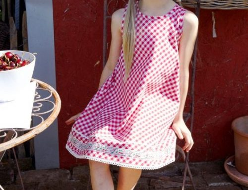 A-Line Summer Dress Sewing Pattern For Girls (Sizes 86-128)
