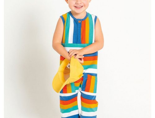 French Terry Jumpsuit Sewing Pattern For Boys (Sizes 80-104)