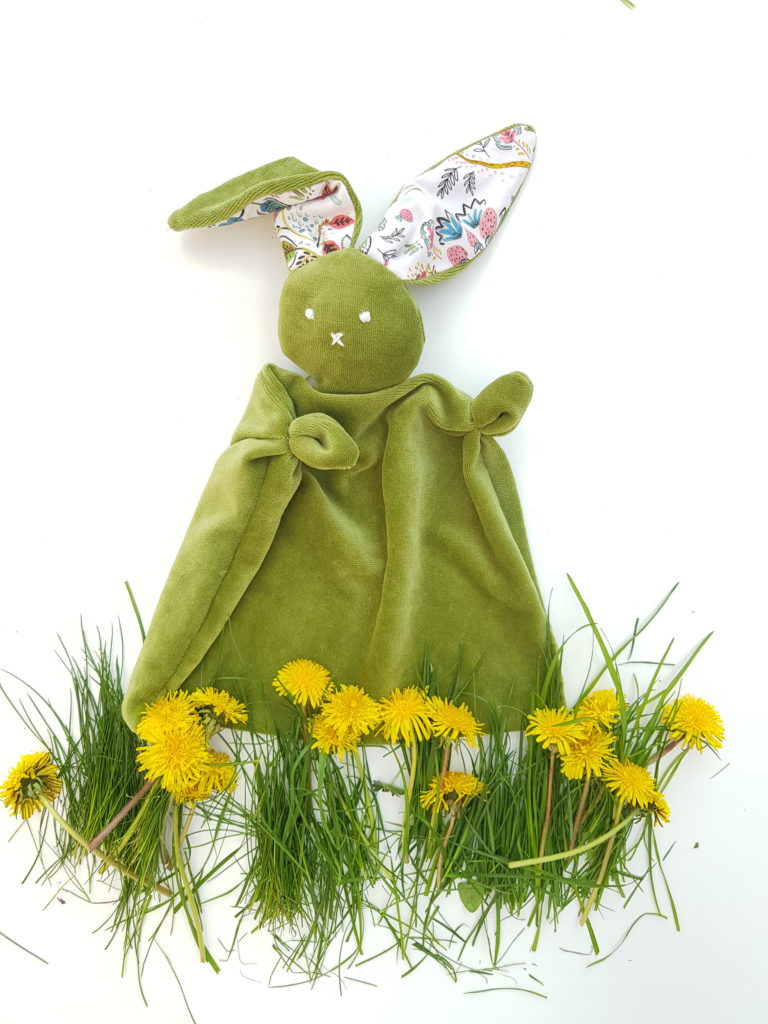Cuddly Bunny Comforter Sewing Pattern