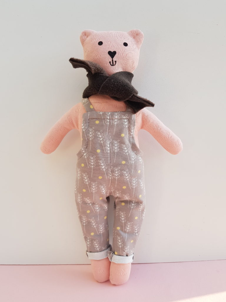 Teddy Clothes Sewing Pattern (Dungaree and Sweater)