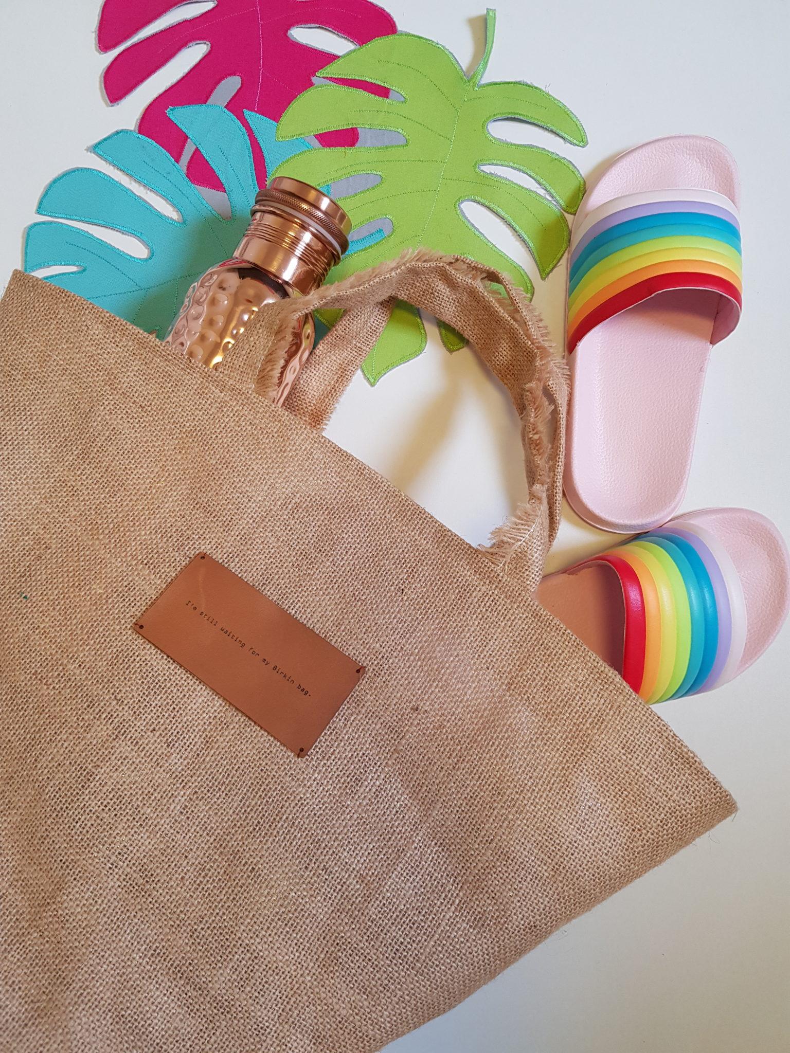 DIY Basket Bag