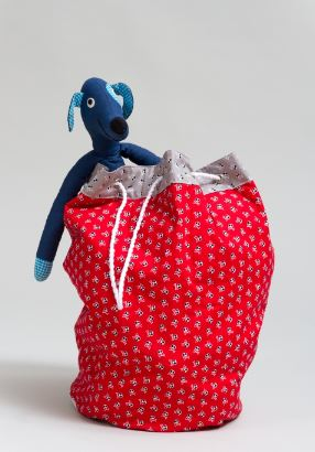 On The Go Toy Bag Sewing Pattern