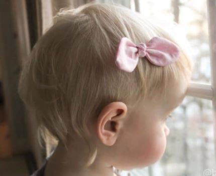Knotted Hair Bow In 3 Styles