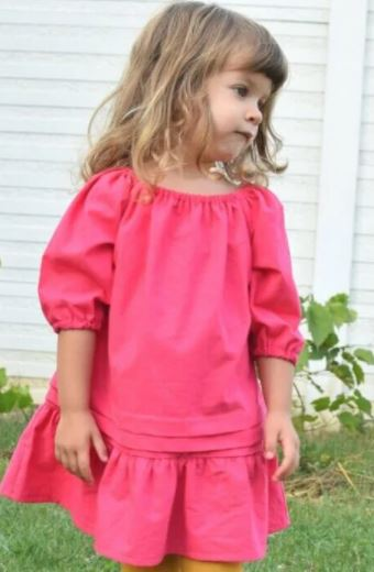 Peasant Dress Pattern And Tutorial
