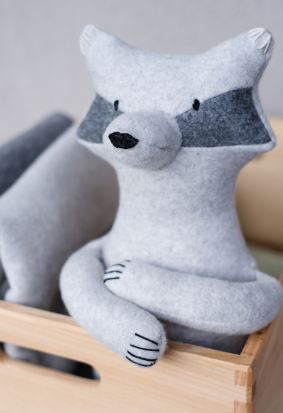 Raccoon Soft Toy Sewing Pattern