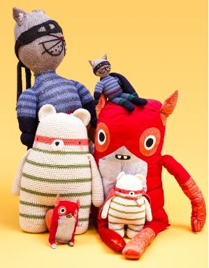 Superheroes Fred And Freddy Sewing Pattern