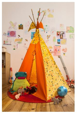 Children's Teepee Sewing Pattern
