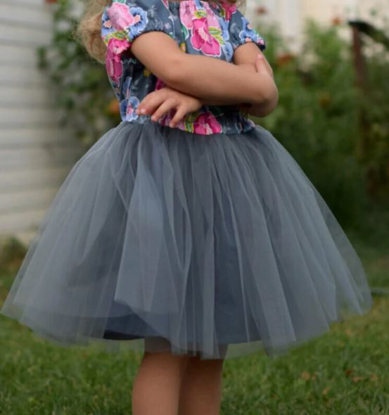 Girls Tulle Dress Pattern And Tutorial