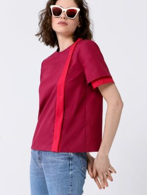 Concealed Placket Blouse Sewing Pattern (Sizes 36-42 Eur)