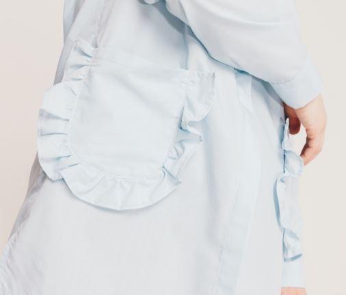 Blouse ZUZU Sewing Pattern For Women (Sizes S-M-L)