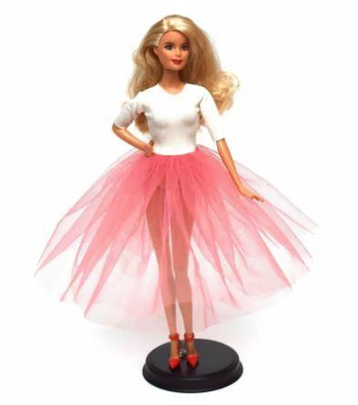 10-Minute Barbie Dress Pattern And Tutorial