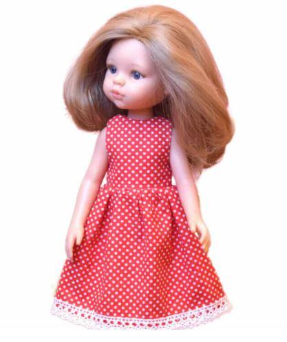 Paola Reina Doll Dress Sewing Pattern