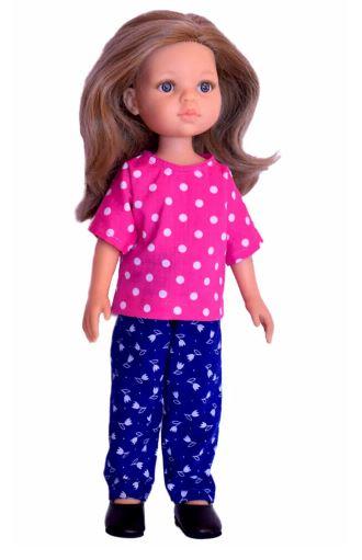 Paola Reina Doll Pants Sewing Pattern