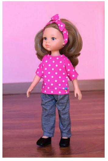 Paola Reina Doll Top Sewing Pattern